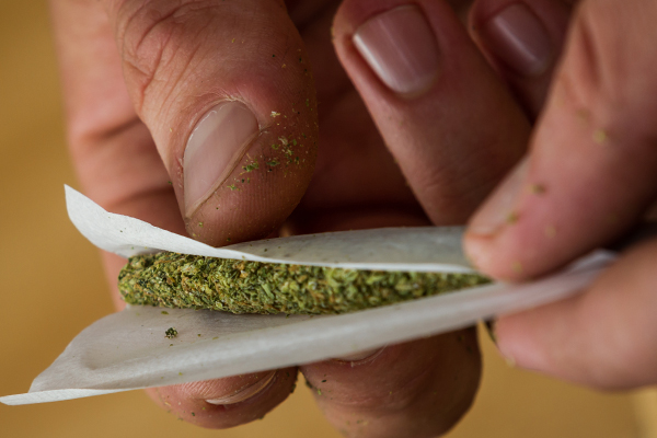 Legalized Pot Possession Infringing on Rights by Churning Stomachs?